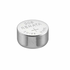 Renata 309 MP 80mAh 1.55V Silver Oxide Coin Cell Battery - 1 Piece Tear Strip, Sold Individually