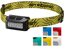 Nitecore NU10 USB Rechargeable LED Headlamp - 160 Lumens - Includes Li-ion Battery Pack - Black