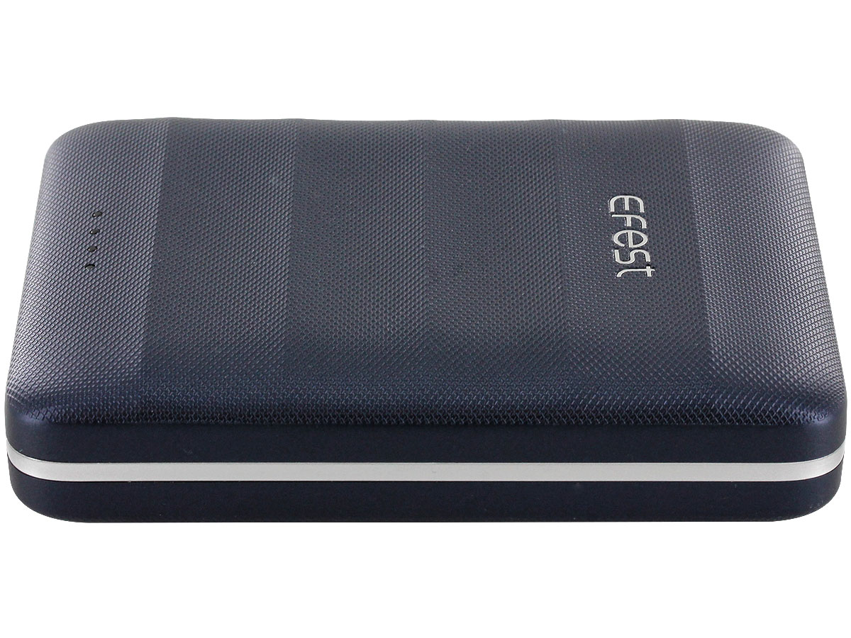 Efest 5V power bank charger side profile