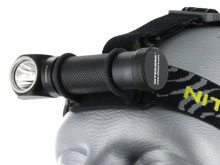 Nitecore HC30 Dual-Form Headlamp - CREE XM-L2 (U2) LED - Neutral White - 1000 Lumens - Uses 1 x 18650 or 2 x CR123As