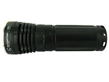 Sunwayman V60C Variable Output Flashlight with Magnetic Control - CREE XM-L T6 LED - 909 Lumens - Uses 3 x 18650s or 6 x CR123A/16340s