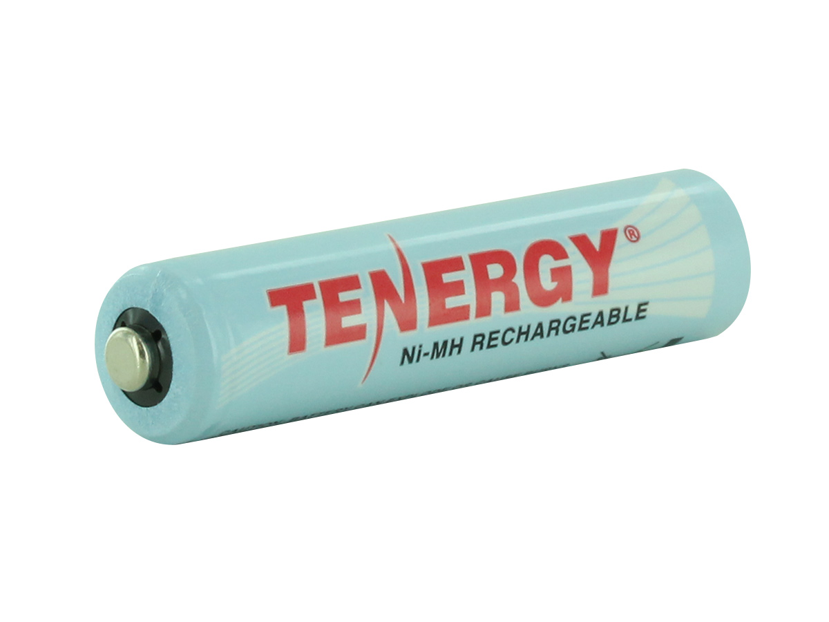 Angle Shot of the Tenergy 10400 AAA Battery