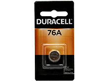 Duracell Duralock PX76A LR44 1.5V Alkaline Button Cell Battery - 1 Piece Retail Card