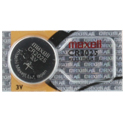 Maxell CR2025 150mAh 3V Lithium (LiMNO2) Coin Cell Battery - 1 Piece Tear Strip, Sold Individually