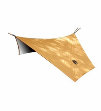Ultimate Survival Technologies B.A.S.E. Hex Tarp - 108 x 96-inch All-Weather Thermal Insulated Camping Shelter - Orange (20-51144-1)