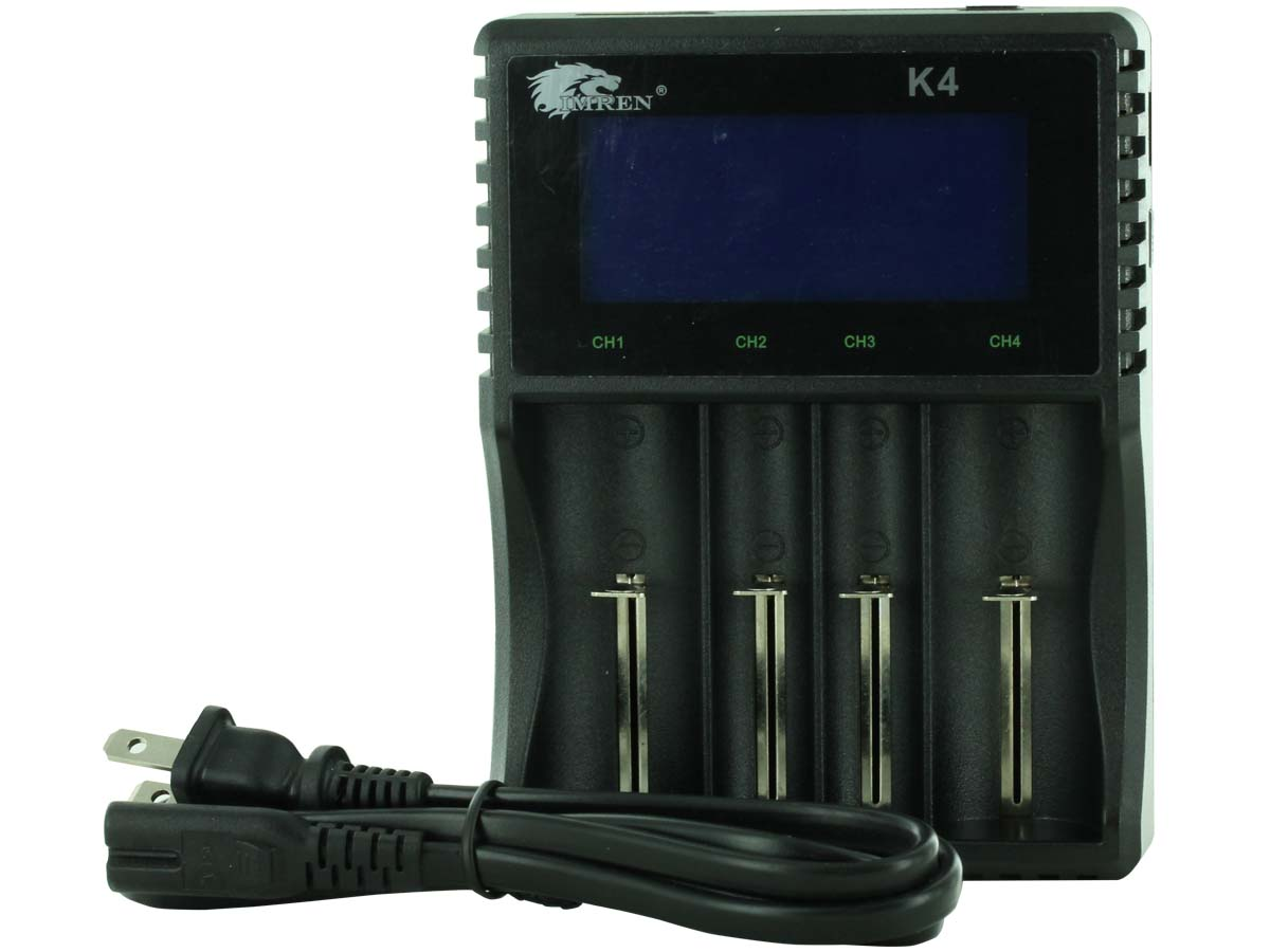 Imren K4 Intellicharger 4-Channel Charger for Li-ion and Ni-MH