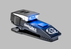 QuiqLite X USB Rechargeable Blue/White LED Light (QUIQLITE-Q-XBW)