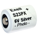 Exell S23PX 116mAh 6V Silver Oxide (Zn/Ag20) Camera Battery