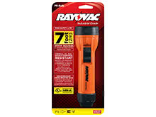 Rayovac Industrial Intrinsically Safe Krypton Flashlight - Incandescent Bulb - 8 Lumens - Uses 2 x D Cells (IN2-MSC)
