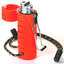 Ultimate Survival Technologies Trekker Stormproof Butane Lighter / Fire Starter - Extra Large Fuel Tank - Orange (21-W03-005)