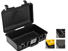 Pelican 1485 AIR Watertight Case with Logo - Black - Multiple Inserts Available