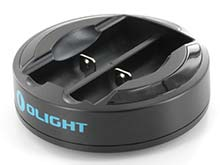 Olight Omni-Dok 2 Bay Universal Battery Charger - 2nd Edition