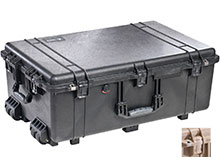 Pelican 1650 Watertight Case - Comes in 2 Colors - Available With or Without Foam