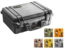 Pelican 1520 Medium Watertight Case With Foam - Comes in 6 Colors