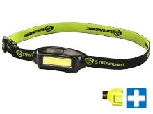 Streamlight Bandit Ultra Lightweight Headlamp - COB LED Technology - 180 Lumens -  Includes 1 x Lithium Polymer (Li-Poly) Battery Pack - Comes With Various Colors and Straps