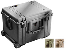 Pelican 1620 Watertight Protector Case with Foam - Large - 24.8 x 19.6 x 14-Inches - Green, Black or Tan