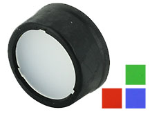 Nitecore 25.4mm Filters - Choose Red, Green, Blue or White Diffuser - Works with MT2C, MH1A, MH2A, MH1C, MH2C, P12, P10, EC1, EC2, EA1 & EA2