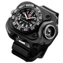 SureFire 2211 Luminox Rechargeable Variable-Output LED  Wristlight with Watch - 300 Lumens - Includes Li-ion Battery Pack (2211-B-BK-LMX)