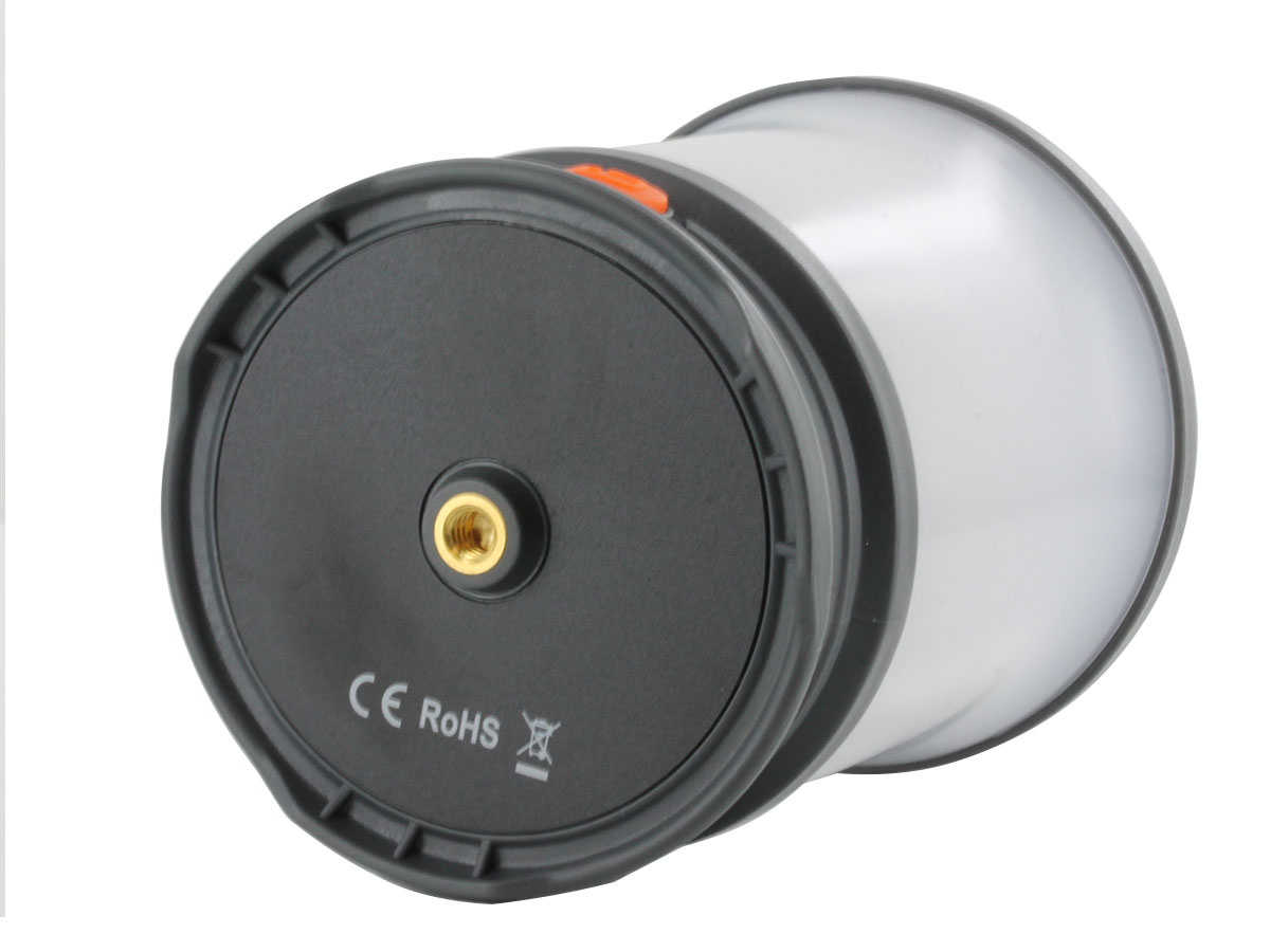 Bottom view of Fenix CL30R lantern