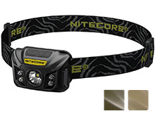 Nitecore NU30 USB Rechargeable Headlamp - CREE XP-G2 S3 LED - 400 Lumens - Built-In Li-Ion Battery Pack - Available in Black or Army Green