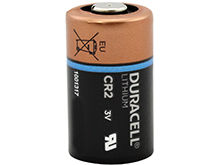 Duracell Ultra DL CR2 800mAh 3V Lithium Primary (LiMNO2) Button Top Photo Battery - Bulk