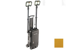 Pelican 9460M Rugged Series Remote Area Lighting System - 12000 Lumens - with Integrated SLA Battery - Black (094600-0012-110) or Yellow (094600-0012-245)