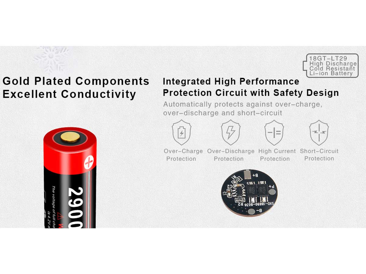 PTC-Protected Battery