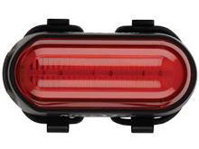 Nite Ize Radiant 50 Bike Light - 3 x Red Floodlight LEDs - 15 Lumens - Uses 3 x AAA