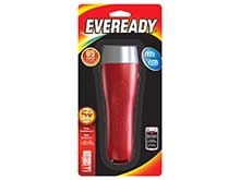 Energizer Eveready EVGP25S 2D LED Flashlight - 65 Lumens - Includes 2 x D Batteries