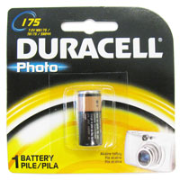 Duracell Photo MN175-BPK 5NR44 7.5V Alkaline Photo Battery - 1 Piece Retail Card