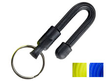 Nite Ize Gear Tie Key Ring Yellow