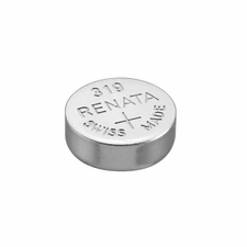 Renata 319 MP 21mAh 1.55V Silver Oxide Coin Cell Battery - 1 Piece Tear Strip, Sold Individually