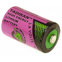 Tadiran MBU Series TL-5101 1/2 AA 950mAh 3.6V Lithium Thionyl Chloride (Li-SOCI2) Button Top Batteries - Case of 540