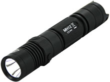 Nitecore Multitask Hybrid MH12 USB Rechargeable Tactical Flashlight - CREE XM-L2 U2 LED - 1000 Lumens  - Uses 1 x 18650 (Included) or 2 x CR123As