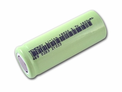 Tenergy 30036-0 18500 1400mAh 3.7V Protected 2.6A Lithium Ion (Li-ion) Flat Top Battery - Bulk