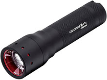 Ledlenser P7.2 LED Flashlight - 320 Lumens - Uses 4 x AAA Batteries