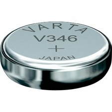 Varta 346 9mAh 1.55V Electronic Silver Oxide Coin Cell Battery (V346) - Pill Box (V20346101111)