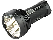 JETBeam T6 Professional Outdoor Searchlight - 4 x CREE XP-L LEDs - 4350 Lumens - Uses 4 x 18650s