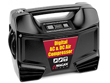 Wagan EL7315 AC/DC Digital Air Compressor