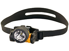 Streamlight 61025 Trident HAZ-LO Headlamp - 1 x C4 LED and 3 x 5mm LEDs - 85 Lumens - Includes 3 x AAA Alkaline Batteries
