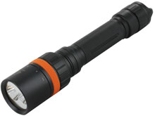 Fenix SD20 Diving Flashlight with Rotating Magnetic Ring - CREE XM-L2 U2 / XQE Red LEDs - 1000 Lumens - Uses 2 x 18650s or 4 x CR123As