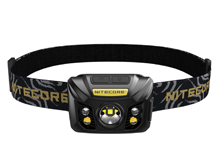 Nitecore NU32 Rechargeable LED Headlamp - CREE XP-G3 S3 - 550 Lumens - Uses 3.7V 1,800mAh Li-ion Battery Pack