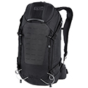 SOG Scout 24L CP1004  Backpack with Laptop and Hydration Sleeves (Bladder Sold Separate), MOLLE Front Patch - Black or Grey