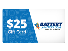 $25 Gift Certificate for BatteryJunction.com