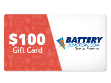 $100 Gift Certificate for BatteryJunction.com