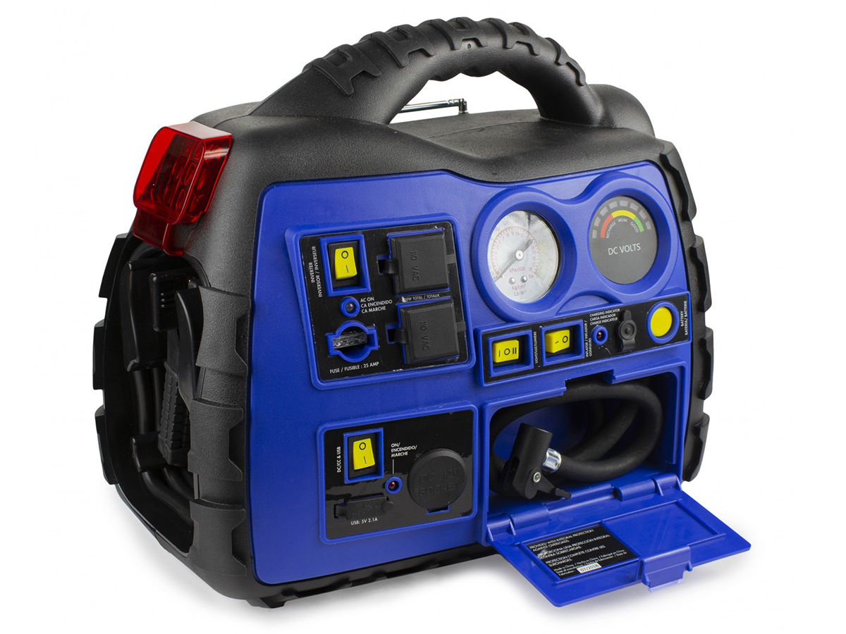 Michelin Multi-Function Portable Power Source back side angle