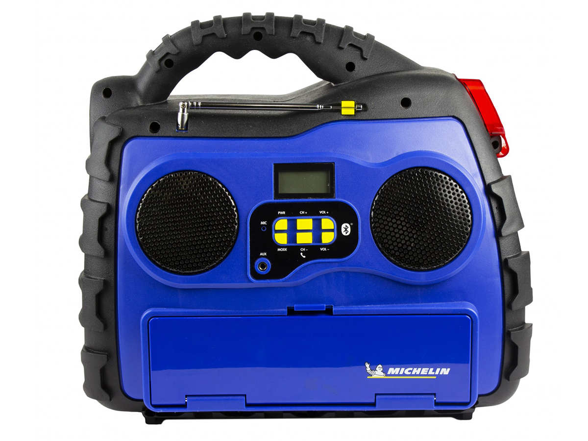 Michelin Multi-Function Portable Power Source front view