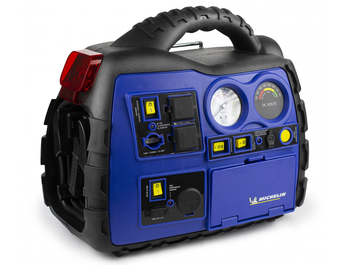 Michelin Multi-Function Portable Power Source side angle back