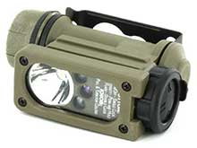 Streamlight Sidewinder Compact II 145 Hands-Free Military Flashlight - White, Red, Blue and IR LEDs - 55 Lumens - Includes 1 x CR123A - Various Accessories and Packaging