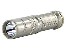 Sunwayman C25C Ti Thrones Titanium Flashlight - CREE XM-L2 U2 LED - 856 Lumens - Uses 1 x 18650 or 2 x CR123As